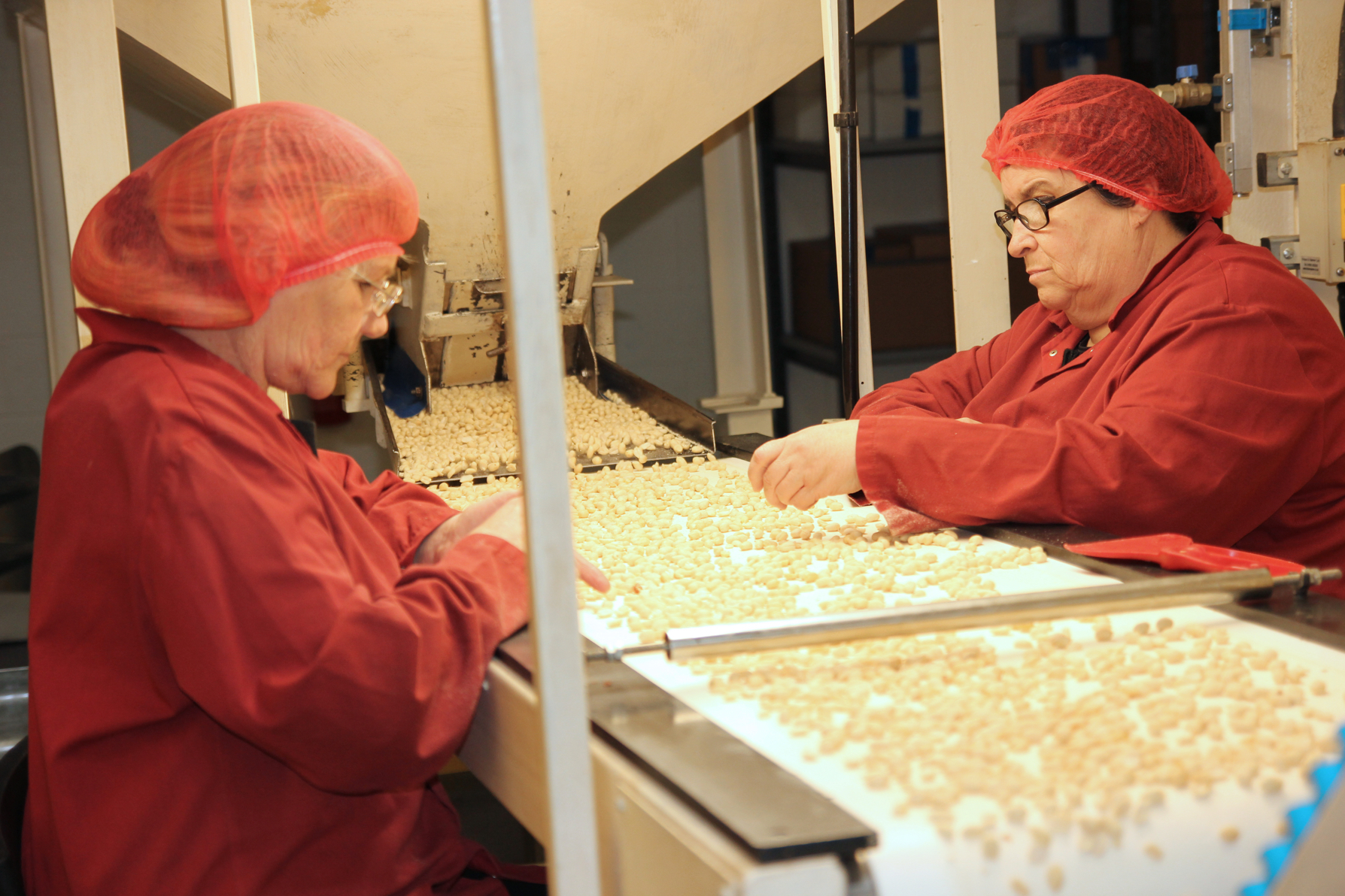 HBS Foods peanuts only quality control