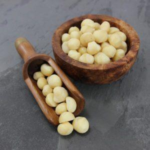 Whole and Broken Macadamia Nuts
