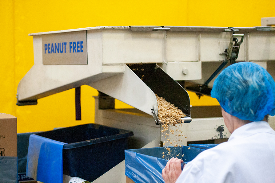 HBS Foods - Nibbing Processing