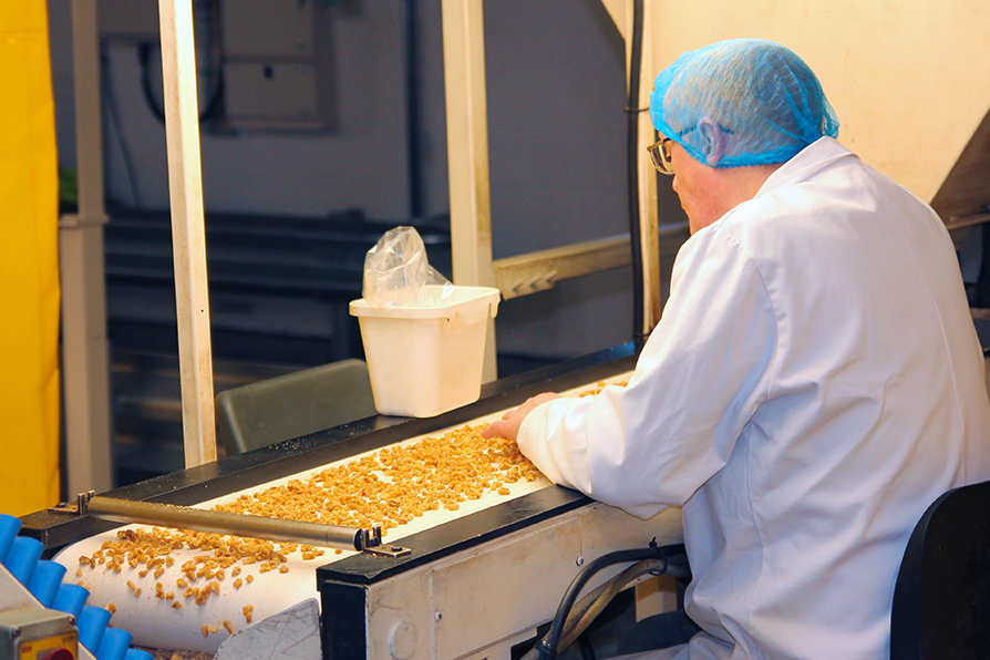 HBS Foods - Quality Control